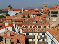 X_P1090196 (Menny Borovski) Tags: rooftops rooftile teruel spain architecture tower