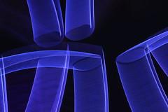 ICM abstract: curvilinear blue on black (Jon Dev) Tags: intentionalcameramovement intentionalcameramotion icm monochrome blur