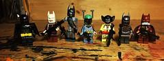 Batty Hunters (Lord Allo) Tags: lego star wars batman bounty hunters boba fett dengar ig88 4lom zuckuss bossk darth vader