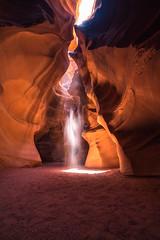 Aberration (kephart_kyle) Tags: antelope arizona beams beautiful bright canyon epic lighthouse orange page road slot travel trip