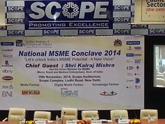 20141119_101213 (newsmsme) Tags: national msme conclave 2014