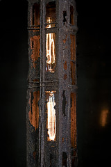 Rusty glow (jkotrub) Tags: iron steel diy make maker pour glow rust metal heat furnace ice snow winter warm molten burn fire