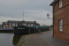 National Waterways Museum Ellesmere Port 130219_DSC2805 (Leslie Platt) Tags: exposureadjusted straightened cheshirewestchester ellesmereport nationalwaterwaysmuseum inlandwaterways bigmere towedsteelbarge nationalhistoricships