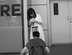 Different perspective (Zebedee_69) Tags: perspective streetphotos streetphotography blowjob compromised blackandwhite smartphone compromising view juxtaposition