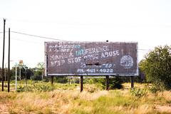 Help Stop Drug Abuse (Thomas Hawk) Tags: america newmexico route66 tucumcari usa unitedstates unitedstatesofamerica billboard fav10