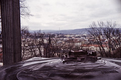 Brno, 2015 (rixo.hmnby) Tags: 35mm 35 film shotonfilm analog ishootfilm filmlove filmonly filmusers oldcamera analogcamera retro vintage old scan iscanmyownnegatives selfscanned edited rescanned travel travelling roadtrip flytrip czechia czechrepublic moravia easterneurope centraleurope brno spilberk spilberg castle castlehill view city urban brown purple red tourism ambrus richardambrus rixo rambrus 2x3 2by3 36x24 135 3x2 3by2 24x36