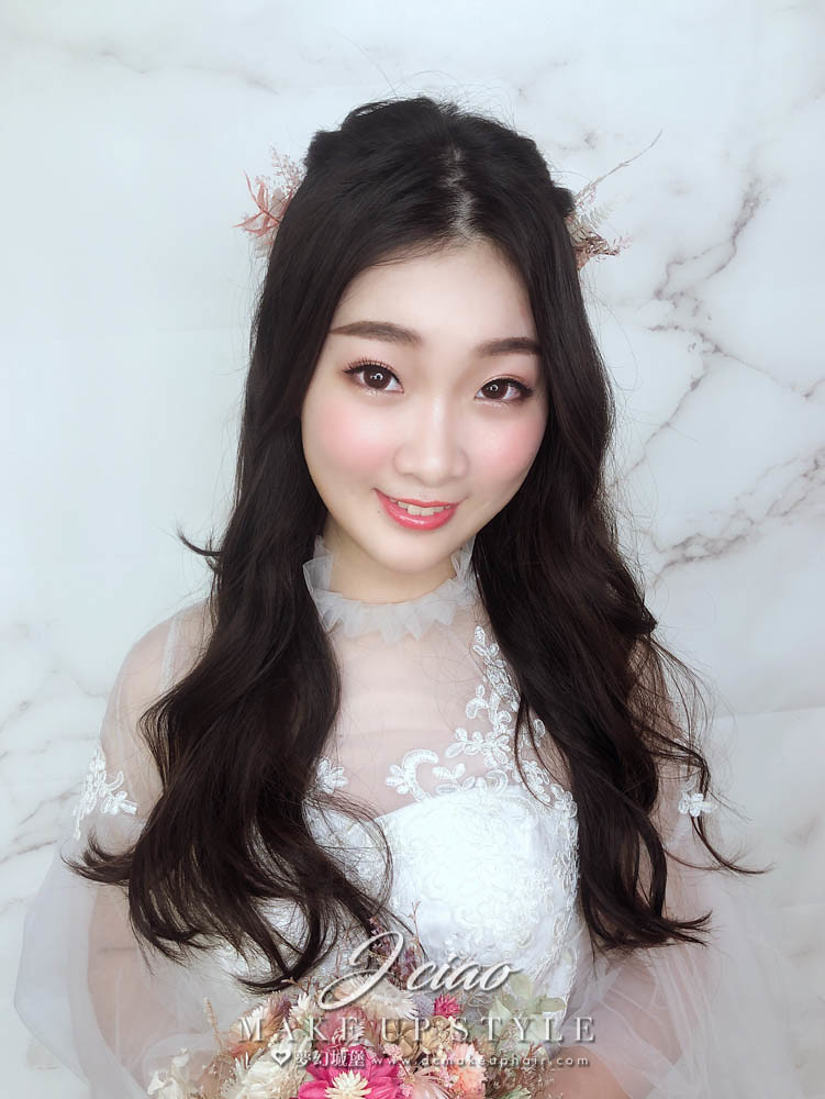 【新秘婕喬】新娘造型創作 / 浪漫甜美風