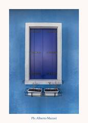 A nice window (albertomazzei1) Tags: burano venezia venice laguna italy window finestra colors colori azzurro blu photography albertomazzei