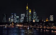 Frankfurt Skyline (PepinAir) Tags: christmas frankfurt germany skyline travel xt10 building financial