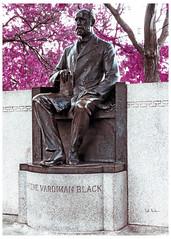 Greene Vardiman Black (swanksalot) Tags: black sculpture history dentist dentistry greenevardimanblack gvblack tweeted chicago lincolnpark crossprocessed