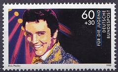 Deutsche Briefmarken (micky the pixel) Tags: briefmarke stamp ephemera deutschland bundespost jugendmarke fürdiejugend rockmusik popmusik musiker elvispresley