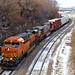 2/2 BNSF 4271 Leads EB Manifest Kansas City, MO 2-9-19