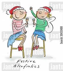 www.jantoo.com/cartoon/30433480 (baderranch) Tags: christmas alcohol wine xmas december sleigh bells santa festive snow angel wings holly mistletoe alcoholic alcoholics christmastime xmastime christmasspirit xmasspirit festivespirit festiveness drinking addict addicts cartoon cartoons