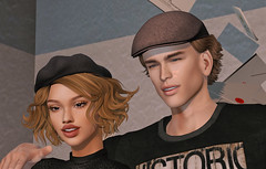 @Wasabi , @Andore (Sweet Fashion Girl and Boy) Tags: hair wasabi queenie worldofmagic locktuft cutler ears andore base