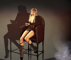Me by Me (Andine Slade) Tags: chair secondlife blond