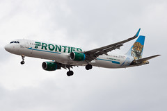 Frontier Airlines Airbus A321 N712FR (jbp274) Tags: las klas mccarran airport airplanes frontierairlines frontier f9 airbus a321