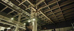 20190228_DP0Q6053-21x9 (NAMARA EXPRESS) Tags: travel construction structure station roof decoration star night spring indoor color ueno tokyo japan spp spp661 foveon x3 sigma dp0 quattro wide ultrawide superwide namaraexp