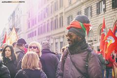 DSCF7206 (Alessandro Gaziano) Tags: alessandrogaziano foto fotografia manifestazione visioni italia roma people gente colori colors diritti italy reportage