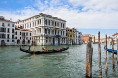 The Gondolier ⛵ (Dimitri Gugliotta) Tags: venezia venice gondolier gondoliere gondola veneto italia italy venicelandscape italianlandscape paesaggioitaliano paesaggiodivenezia
