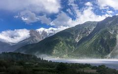 Himalayan Highway (Tom Neumann) Tags: nepal himalayan highway landscape sony sonya6000 16mm ilce6000 water mountains range nilgiri lake forest trees fog mist sky clouds nubes viaje travel aventura adventure