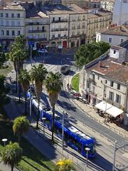 Montpellier Corum & Tram (jc.d the cycling photographer) Tags: france francese languedocroussillonmidipyrénées languedoc hérault montpellier montpelliermétropoleméditerranée corum tam tram tramway ligne1 ligne4 ligne2 antigone marathon