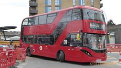 P1150218 2544 YX19 ORV at Walthamstow Central Station Selborne Road Walthamstow London (LJ61 GXN (was LK60 HPJ)) Tags: hackneycommunitytransportgroup ctplus alexanderdennistrident2hybrid enviro400hybrid enviro400hhybrid enviro400h enviro400hybridcity enviro400hhybridcity enviro400hcity e400h city 105m 10500 10500mm 2544 yx19orv j4356