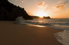 Porthcurno sunrise (tonysemmens) Tags: d7000 sigma1750mm sunrise cornwall porthcurno earlybird lovecornwall sand
