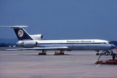 Bashkirskie Avialinii TU-154M RA-85773 GRO 18/06/1996 (jordi757) Tags: airplanes avions nikon f90x kodachrome kodachrome64 gro lege girona costabrava tupolev tu154 ra85773 bashkirskieavialinii