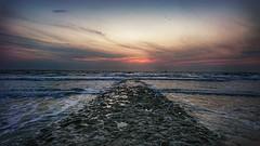Norderney... (D.Purkhart) Tags: norderney nordseeinsel norderneylove nordsee sundown wolkenberge wolkenhimmel wolken strand wellen