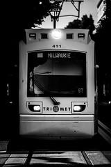 MIlwaukie (Thomas Hawk) Tags: america milwaukie oregon pdx portland trimet usa unitedstates unitedstatesofamerica westcoast bw train us fav10 fav25