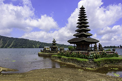 bali temple (Greg M Rohan) Tags: flowers green water indonesia balitemple bali temple sky clouds asia 2018 d750 nikon nikkor