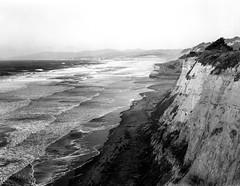 Looking North (bad.moon) Tags: 4x5 hwy1 ilfordfp4plus nikkor180mmf56 blackandwhitephotography burkeandjamespress4x5 california coastline ilfordfilm largeformat pacificocean seascapephotography sheetfilm