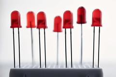 Inspired by Macro Mondays (Jan.Timmons) Tags: leds red tiny externalstudiolights ©jantimmons2019 macro macromondays hobby breadbox softbox fun iloveshallowdof lightemittingdiodes nikon60mmf28microlens pattern fillframe