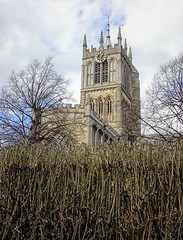Melton church in winter (Dun.can) Tags: meltonmowbray stmarys church winter leicestershire architecture 14thcentury