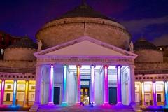 Color in the evening (giobertaskin) Tags: canon street piazza plebiscito campania napoli evening color