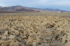 1128 Crusty brown salt deposits along the West Side Road in Death Valley (_JFR_) Tags: camping hiking deathvalley deathvalleynationalpark westsideroad salt