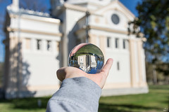 84/365 (misa_metz) Tags: nikon photo photography colors color lensball building sculpture outdoor spring hungary chapel