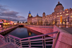 Liverpool's Three Graces. (Jason Connolly) Tags: liverpool thethreegraces leedsandliverpoolcanal merseyside