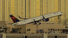 N588NW_LAS_Takeoff_1R (MAB757200) Tags: deltaairlines b757351 n588nw aircraft airplane airlines airport jetliner las klas mccarran boeing takeoff runway1r