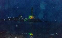 Kanyakumari | 2018. (Vijayaraj PS) Tags: india asia incredibleindia outdoor sky iamnikon travel 2018 contemporaryphotography landscape clouds field sea beach water wave bluehour kanyakumari