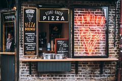 Pizza London (Davide Ibiza) Tags: streetphotography 7artisans xe3 fujifilmxe3 35mm fujifilm myfujifilm london urban pizza 7artisans35mmf12 londra street inspiration photography urbancityphotography davidebaraldi fujilove davideibiza 7artisans35mm