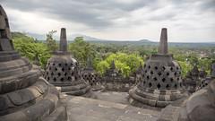 Borubudur (Hans van der Boom) Tags: vacation holiday asia indonesia indonesië java borubudur candi temple stupa buddha buddhist landscape id
