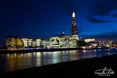 The Shard (Theo Crazzolara) Tags: london night city light shard theshard longexposure thames river skyline cityscape uk great britain eu europe tower skyscraper cityhall england