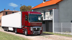 Renault Magnum - Italia (black_moloko) Tags: ets2 eurotrucksimulator2 renault magnum truck