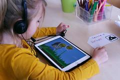 Atelier graphogame CP Rotonde © BB (2) (villenevers) Tags: rotonde tablette tablettes numérique enfant élève hootoo primaire école classe