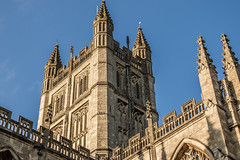 Bath Abbey, UK (mandyhedley) Tags: bath uk landscape roman romanbaths priorpark architecture england park green bathuk parkland trees