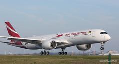 Airbus A350-900 Air Mauritius (Moments de Capture) Tags: airbus a350900 a350 airmauritius 3bnbq aircraft plane avion aeroport airport spotting lfpg cdg roissy charlesdegaulle onclejohn canon 5d mark3 5d3 mk3 momentsdecapture