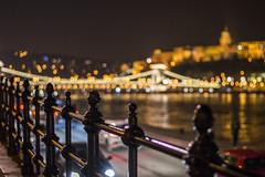 Lightpoints in the City (BenedekM) Tags: budapest hungary city architecture lights lightpoints danube river night nightphotography budacastle pest buda hungarian nikon nikond3200 d3200 nikkor50mmf18g 50mmf18g cars roads longexposure