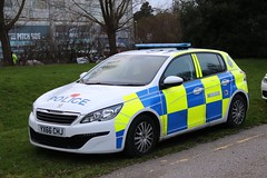 YX66 CHJ (Ben - NorthEast Photographer) Tags: humberside police peugeot 308 response car panda standby hull city sheffield wednesday football team teams footy patrol patrolling convey escort fans players plate yx66chj