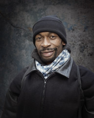 Urice (mckenziemedia) Tags: man homeless homelessness people street streetphotography city urban chicago portrait portraiture coat jacket scarf hat stockingcap